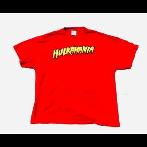 Other - Vintage 1998 hulk hogan hulkmania wwe wwf raw top